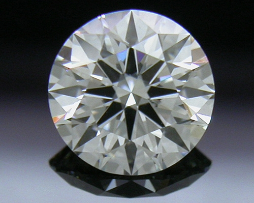 0.507 ct H VS1 A CUT ABOVE® Hearts and Arrows Super Ideal Round Cut Loose Diamond