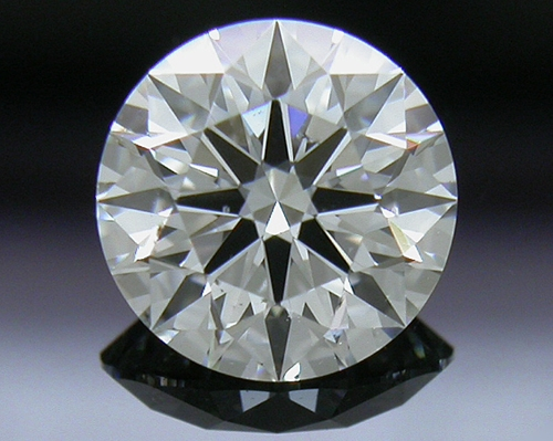 0.608 ct H SI1 A CUT ABOVE® Hearts and Arrows Super Ideal Round Cut Loose Diamond