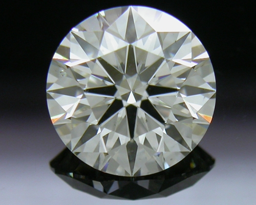 1.154 ct J SI2 A CUT ABOVE® Hearts and Arrows Super Ideal Round Cut Loose Diamond