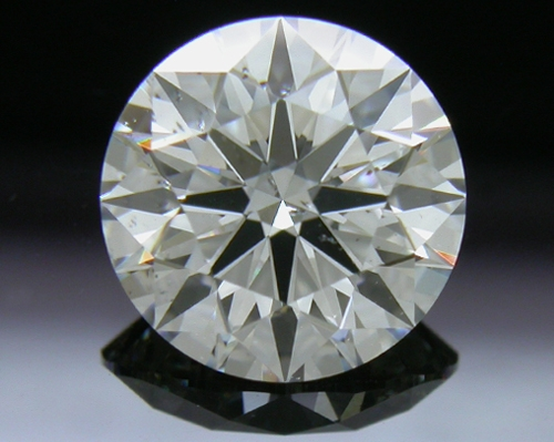 1.238 ct G SI2 A CUT ABOVE® Hearts and Arrows Super Ideal Round Cut Loose Diamond