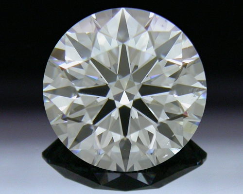 1.001 ct F SI1 A CUT ABOVE® Hearts and Arrows Super Ideal Round Cut Loose Diamond
