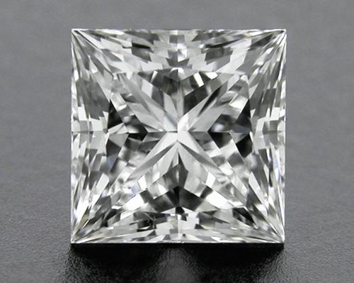 0.761 ct G SI1 A CUT ABOVE® Princess Super Ideal Cut Diamond