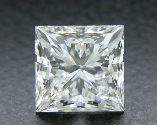 0.702 ct F SI1 A CUT ABOVE® Princess Super Ideal Cut Diamond