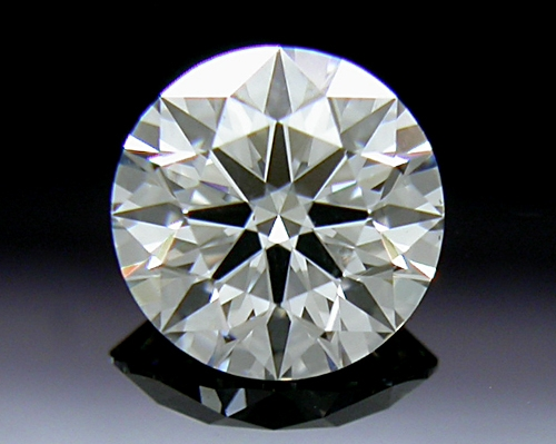 0.537 ct H SI1 A CUT ABOVE® Hearts and Arrows Super Ideal Round Cut Loose Diamond