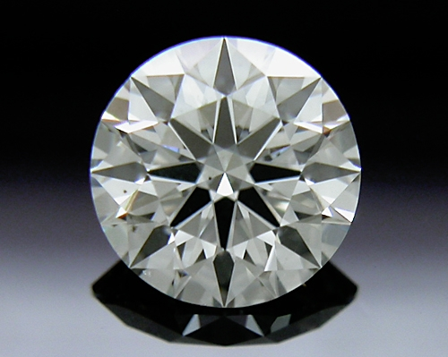 0.565 ct I SI1 A CUT ABOVE® Hearts and Arrows Super Ideal Round Cut Loose Diamond