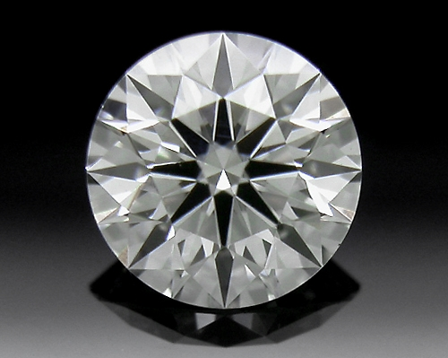 0.393 ct I VS1 A CUT ABOVE® Hearts and Arrows Super Ideal Round Cut Loose Diamond