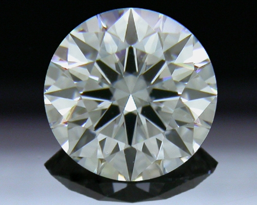 0.502 ct F VS1 A CUT ABOVE® Hearts and Arrows Super Ideal Round Cut Loose Diamond