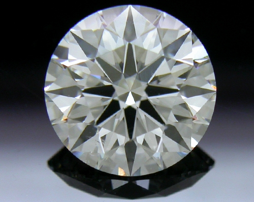 1.10 ct G SI1 A CUT ABOVE® Hearts and Arrows Super Ideal Round Cut Loose Diamond