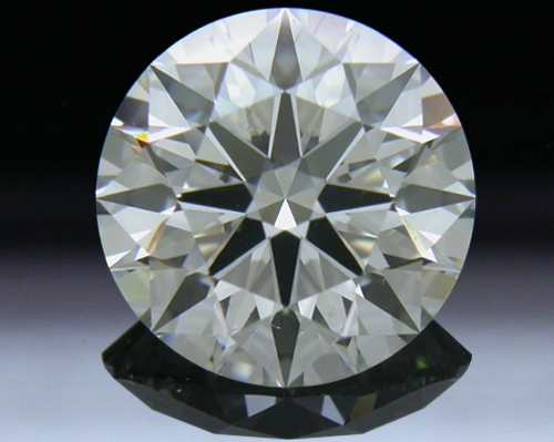 3.085 ct J SI1 A CUT ABOVE® Hearts and Arrows Super Ideal Round Cut Loose Diamond