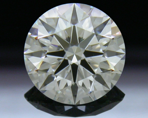 1.002 ct F SI1 A CUT ABOVE® Hearts and Arrows Super Ideal Round Cut Loose Diamond