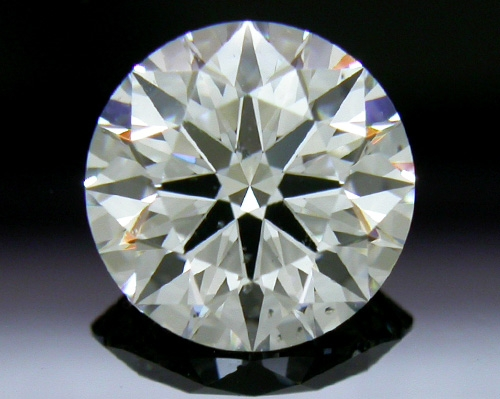 1.056 ct G SI1 A CUT ABOVE® Hearts and Arrows Super Ideal Round Cut Loose Diamond