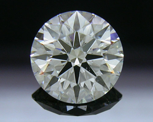1.313 ct I SI1 A CUT ABOVE® Hearts and Arrows Super Ideal Round Cut Loose Diamond