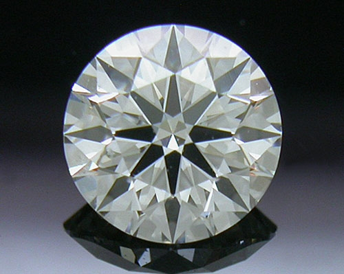 0.52 ct I SI1 A CUT ABOVE® Hearts and Arrows Super Ideal Round Cut Loose Diamond