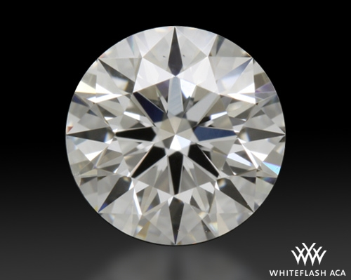 0.592 ct F VS2 A CUT ABOVE® Hearts and Arrows Super Ideal Round Cut Loose Diamond