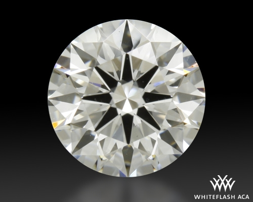 0.852 ct G VS2 A CUT ABOVE® Hearts and Arrows Super Ideal Round Cut Loose Diamond