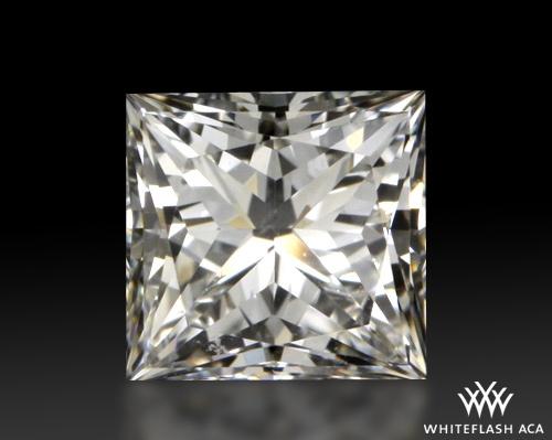 0.808 ct H VS2 A CUT ABOVE® Princess Super Ideal Cut Diamond