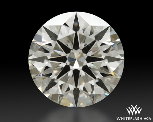 2.188 ct I SI1 A CUT ABOVE® Hearts and Arrows Super Ideal Round Cut Loose Diamond