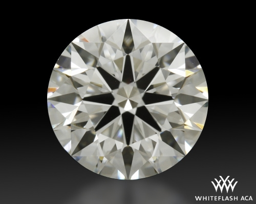 0.834 ct I VS1 A CUT ABOVE® Hearts and Arrows Super Ideal Round Cut Loose Diamond