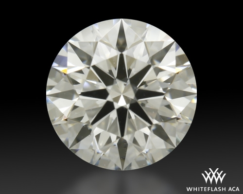 0.772 ct H VS2 A CUT ABOVE® Hearts and Arrows Super Ideal Round Cut Loose Diamond
