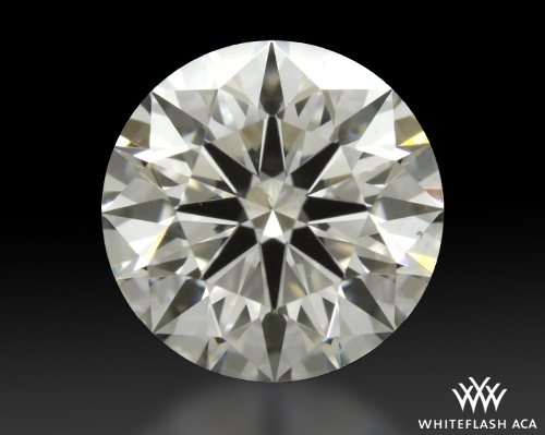 1.035 ct G SI1 A CUT ABOVE® Hearts and Arrows Super Ideal Round Cut Loose Diamond