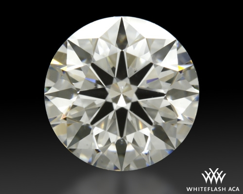 1.174 ct H VS2 A CUT ABOVE® Hearts and Arrows Super Ideal Round Cut Loose Diamond