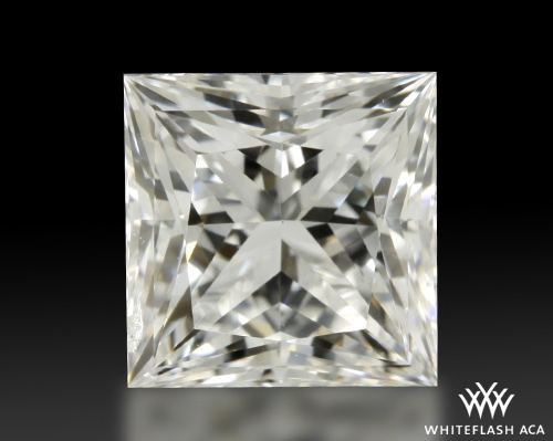 1.057 ct H SI1 A CUT ABOVE® Princess Super Ideal Cut Diamond