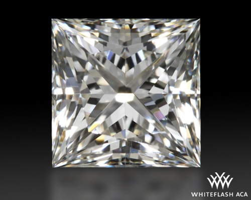 0.82 ct I VVS2 A CUT ABOVE® Princess Super Ideal Cut Diamond