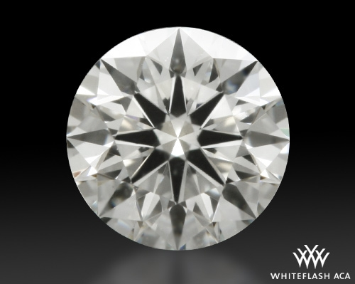 0.323 ct J VS1 A CUT ABOVE® Hearts and Arrows Super Ideal Round Cut Loose Diamond
