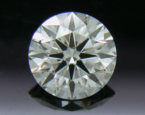 0.323 ct I SI1 A CUT ABOVE® Hearts and Arrows Super Ideal Round Cut Loose Diamond