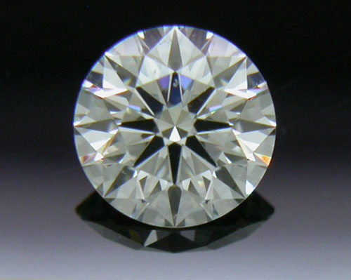 0.318 ct J VS2 A CUT ABOVE® Hearts and Arrows Super Ideal Round Cut Loose Diamond