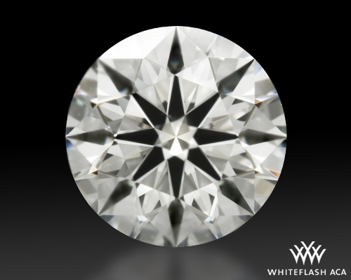 0.762 ct I VVS2 A CUT ABOVE® Hearts and Arrows Super Ideal Round Cut Loose Diamond