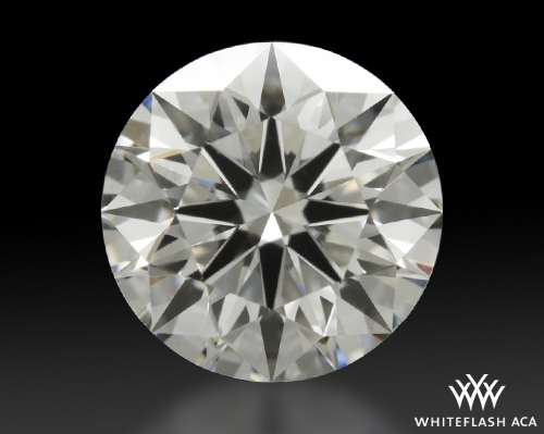 1.006 ct J VS2 A CUT ABOVE® Hearts and Arrows Super Ideal Round Cut Loose Diamond