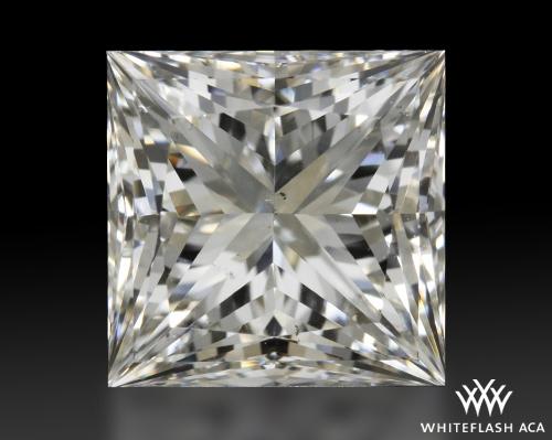 2.151 ct I SI1 A CUT ABOVE® Princess Super Ideal Cut Diamond