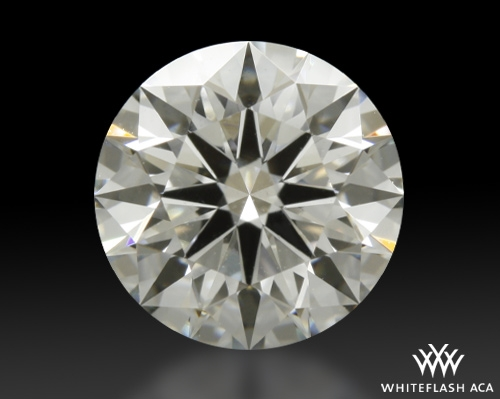 0.935 ct J VS1 A CUT ABOVE® Hearts and Arrows Super Ideal Round Cut Loose Diamond