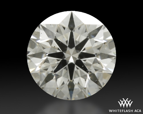 0.306 ct H SI1 A CUT ABOVE® Hearts and Arrows Super Ideal Round Cut Loose Diamond
