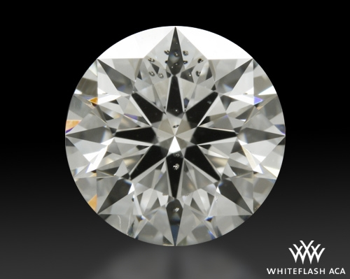 1.236 ct G SI2 A CUT ABOVE® Hearts and Arrows Super Ideal Round Cut Loose Diamond
