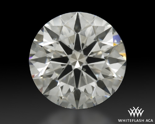1.341 ct I VS2 A CUT ABOVE® Hearts and Arrows Super Ideal Round Cut Loose Diamond