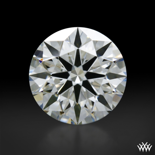 0.403 ct F VVS2 A CUT ABOVE® Hearts and Arrows Super Ideal Round Cut Loose Diamond