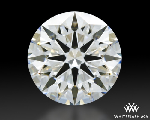 1.012 ct G VS1 A CUT ABOVE® Hearts and Arrows Super Ideal Round Cut Loose Diamond