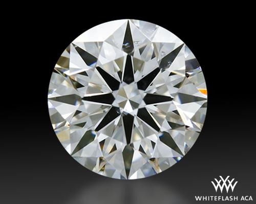 0.636 ct E SI1 A CUT ABOVE® Hearts and Arrows Super Ideal Round Cut Loose Diamond