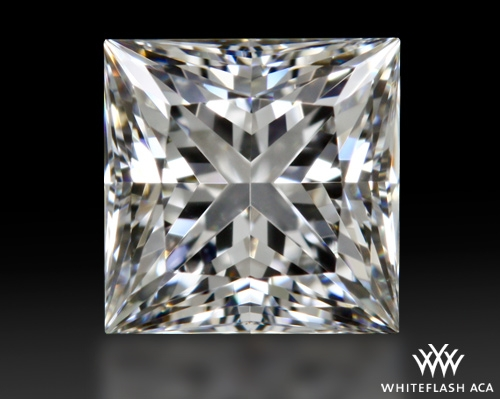 0.711 ct E VS1 A CUT ABOVE® Princess Super Ideal Cut Diamond