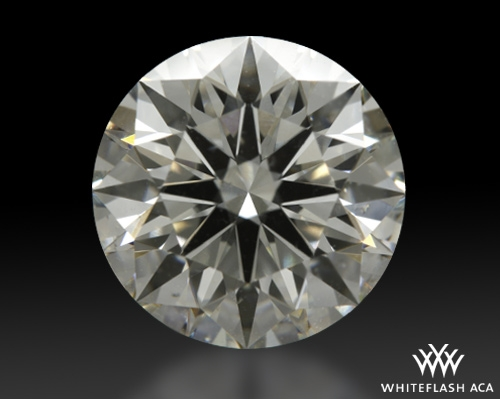 2.451 ct I SI1 A CUT ABOVE® Hearts and Arrows Super Ideal Round Cut Loose Diamond