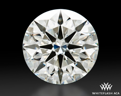 2.321 ct I SI1 A CUT ABOVE® Hearts and Arrows Super Ideal Round Cut Loose Diamond