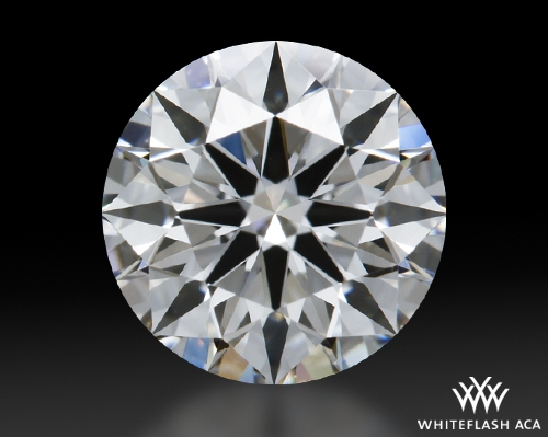 0.824 ct E VS1 A CUT ABOVE® Hearts and Arrows Super Ideal Round Cut Loose Diamond