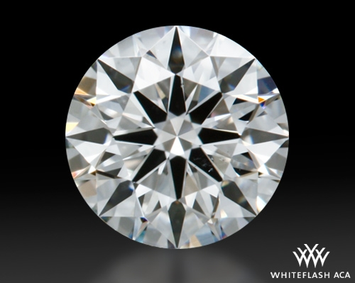 0.613 ct G SI1 A CUT ABOVE® Hearts and Arrows Super Ideal Round Cut Loose Diamond