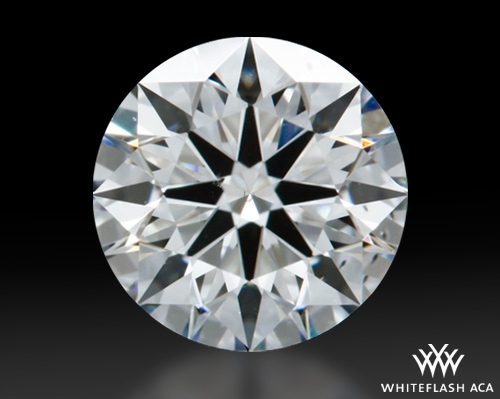 0.614 ct F SI1 A CUT ABOVE® Hearts and Arrows Super Ideal Round Cut Loose Diamond