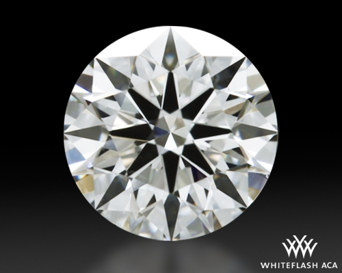 0.605 ct G VS2 A CUT ABOVE® Hearts and Arrows Super Ideal Round Cut Loose Diamond