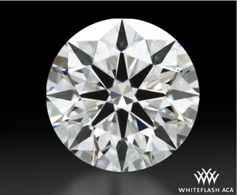 0.613 ct H VS1 A CUT ABOVE® Hearts and Arrows Super Ideal Round Cut Loose Diamond