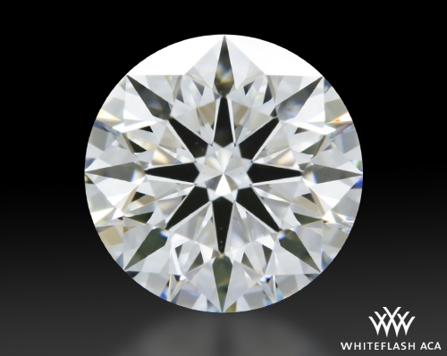 1.108 ct E VS1 A CUT ABOVE® Hearts and Arrows Super Ideal Round Cut Loose Diamond