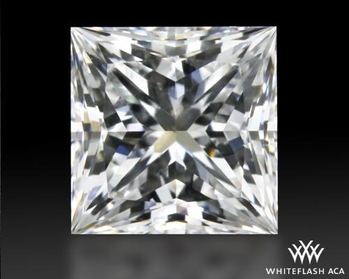 0.518 ct E SI1 A CUT ABOVE® Princess Super Ideal Cut Diamond
